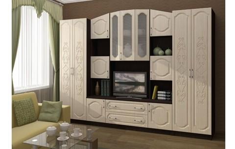 Модульная гостиная Макарена-3 МДФ, композиция 2