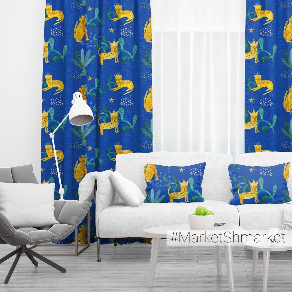 leopard blue