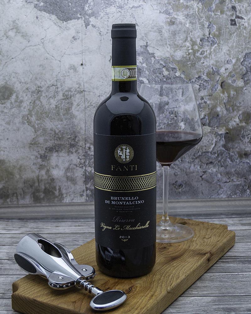 Вино Красное сухое Fanti Брунелло ди Монтальчино Ризерва «Винья Ле Маккиарелле» 14,5% 0,75л.