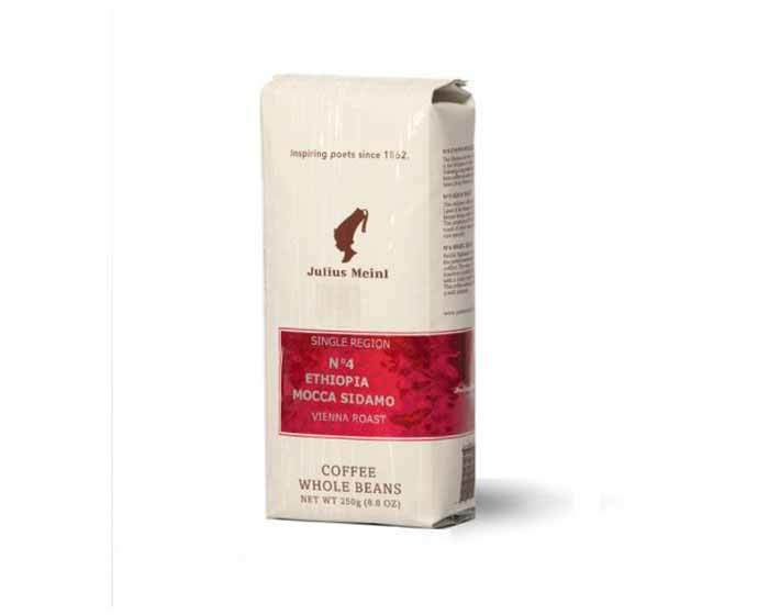 Кофе в зернах Julius Meinl Ethiopia Mocca Sidamo №4, 250 г