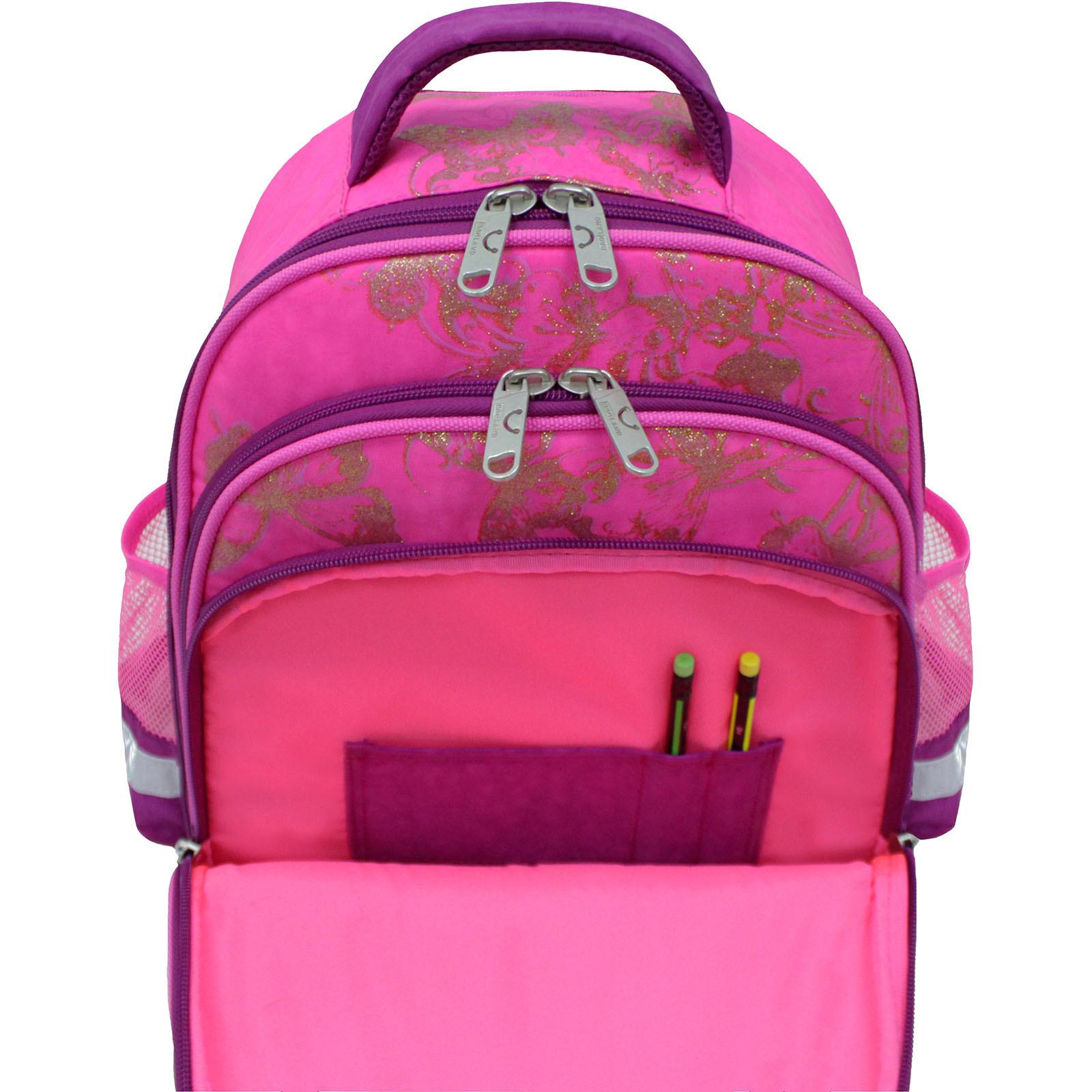 Рюкзак школьный Bagland Mouse 143 малиновый 389 (0051370) фото 6