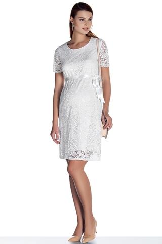 Платье для беременных 07858 белый