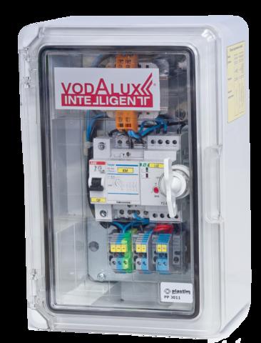 Water Level шкаф управления доливом: реле контроля уровня, автомат, трансформатор клапана VI-CP-050
