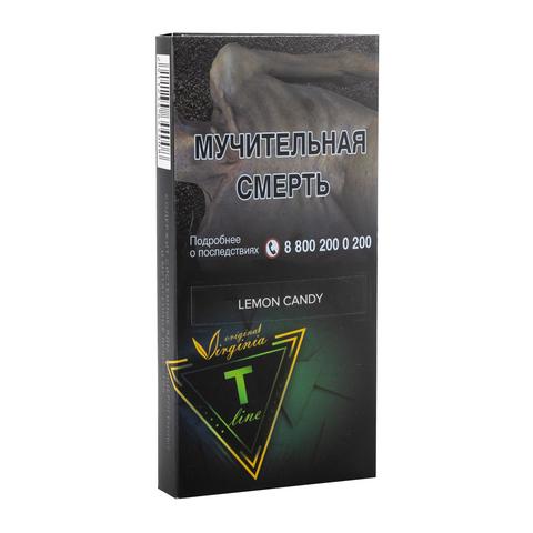 Табак Virginia T-Line Lemon Candy 100 г