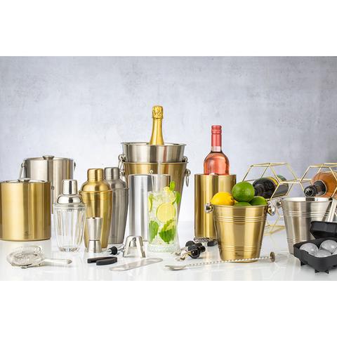 Ведерко для охлаждения вина Barware 1,3 л серебро