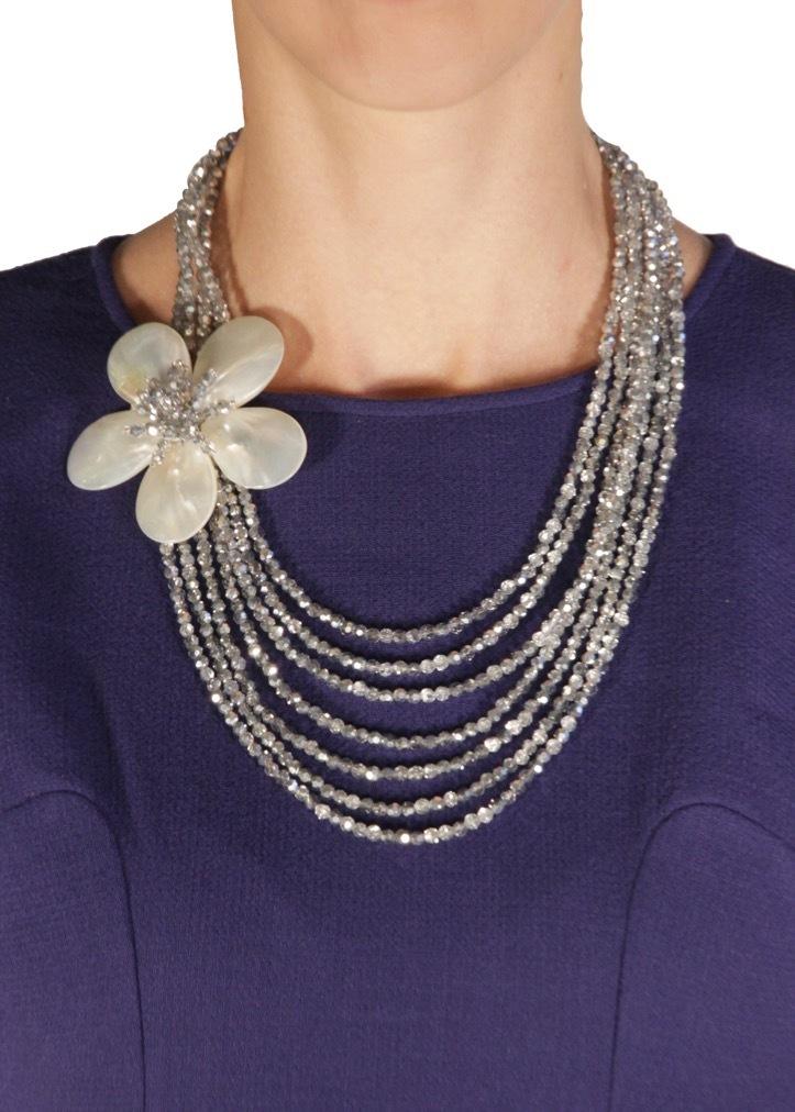 Ожерелье с цветком OTTAVIANI