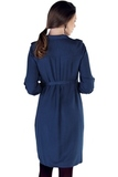 Платье для беременных 09831 синий