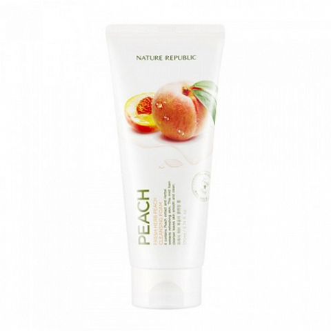 FRESH HERB PEACH CLEANSING FOAM