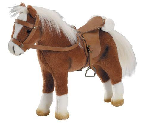 Gotz. Лошадь для куклы с седлом и уздечкой