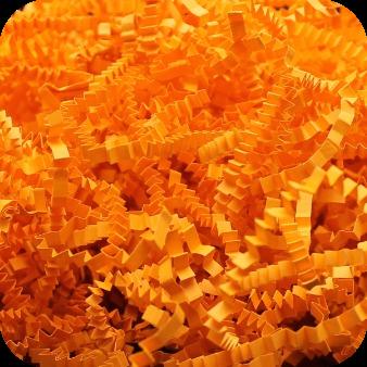 Бумажный наполнитель. Оранжевый