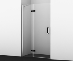 Душевая дверь WasserKRAFT Aller BLACK MATT 10H05LB 120 см левая
