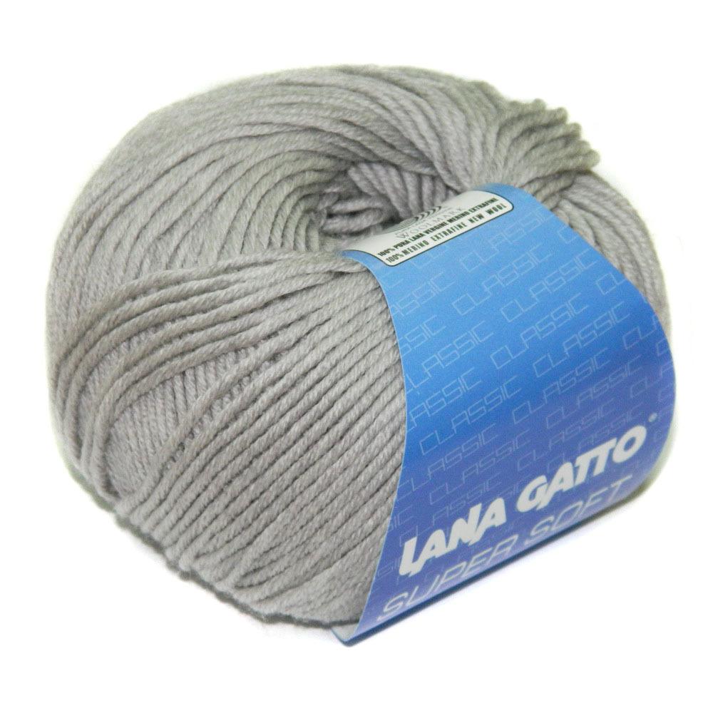 Пряжа Lana Gatto Supersoft 20439 светло-серый