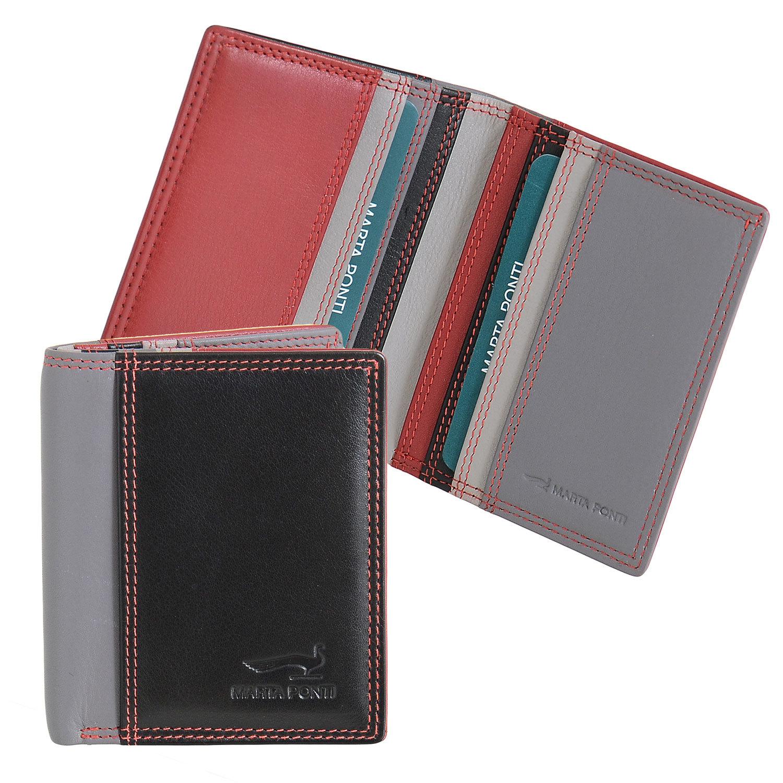 B270042 Hibiscus - Футляр для карт с отделением для купюр Marta Ponti