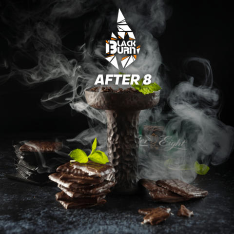 Табак Black Burn After 8 (Шоколад с мятой) 100г
