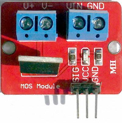 Силовой ключ IRF520 MOSFET