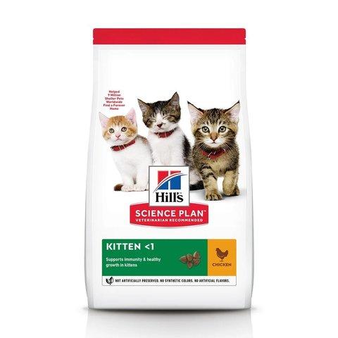 Сухой корм Hill's Science Plan для котят для здорового роста и развития, с курицей