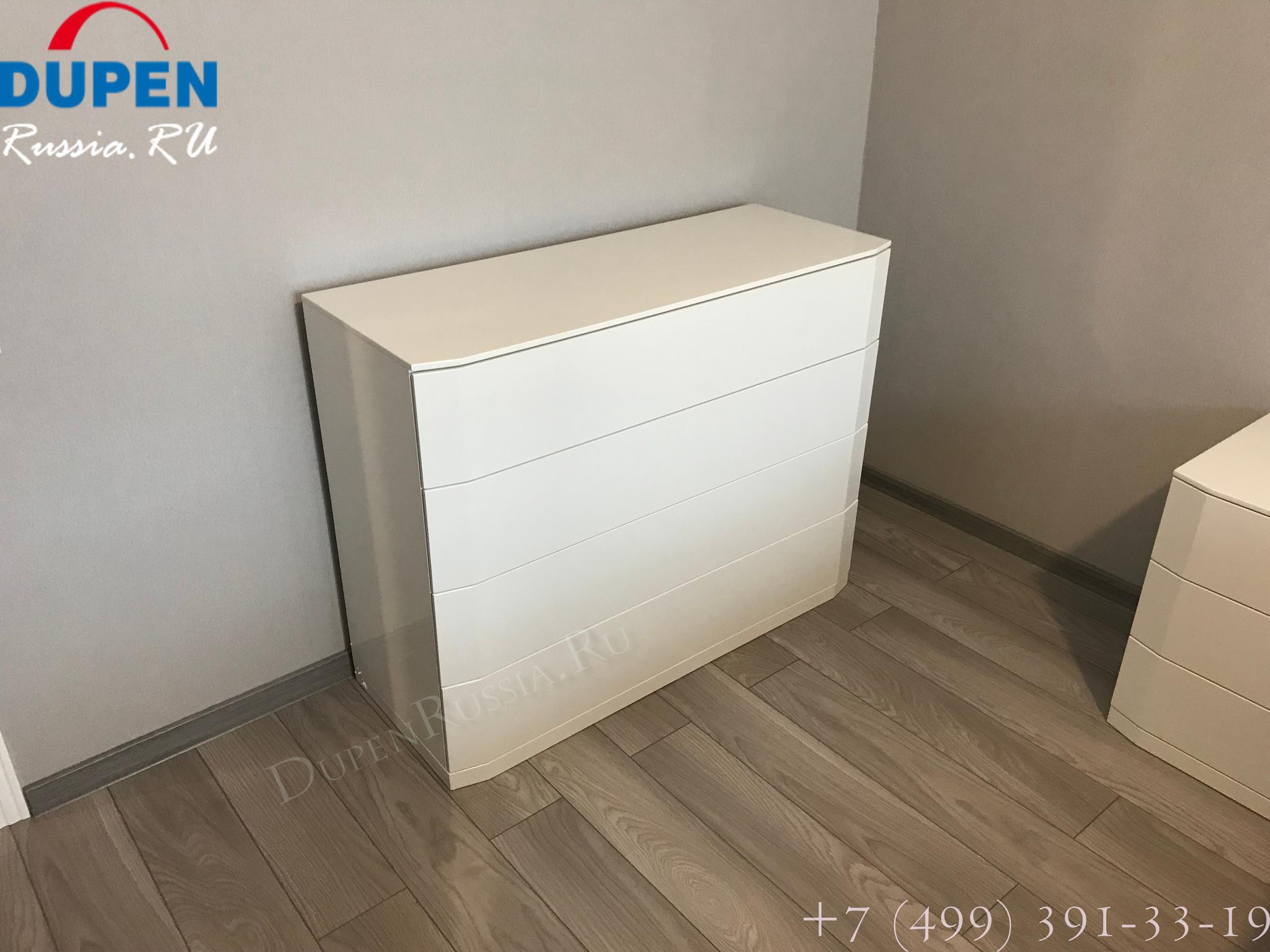 Комод горизонтальный DUPEN (Дюпен) С-102 белый