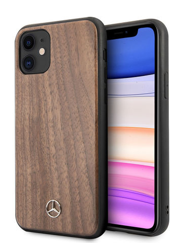 Mercedes / чехол для телефона iPhone 11 | Wood Hard Walnut Brown