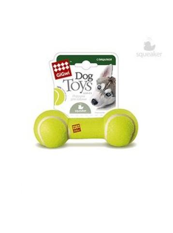 GiGwi Игрушка для собак Гантель с пищалкой