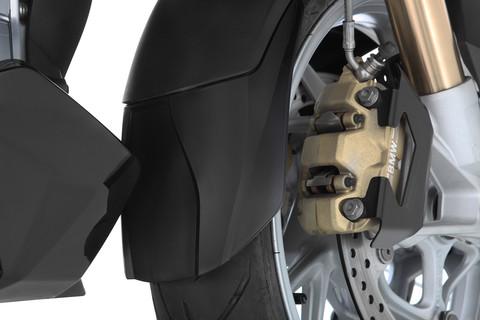 Удлинитель переднего крыла BMW R1250RT, черный
