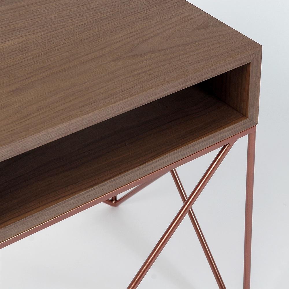 Прикроватная тумба Prince box copper - вид 2