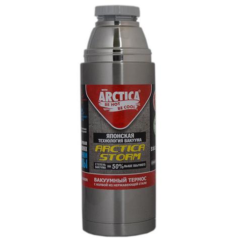 Термос Арктика (0,75 литра) с узким горлом современный, чехол