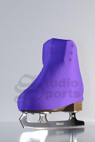 Термочехлы на ботинки (фиолетовые)