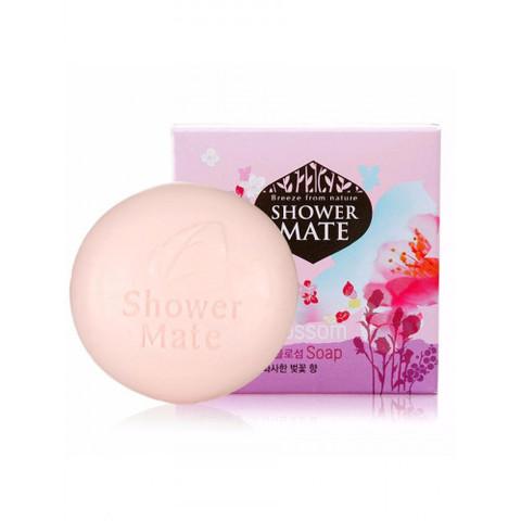 Мыло косметическое Роза и Цветущая вишня Aekyung Shower Mate Romantic Rose & Cherry Blossom 100 гр