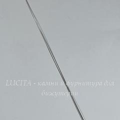 Игла для бисера с большим ушком, 125х0,3 мм