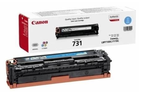 Оригинальный картридж Canon 731C 6271B002 голубой