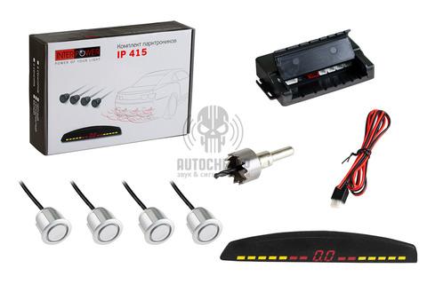 Датчик парковки Interpower IP-415 White