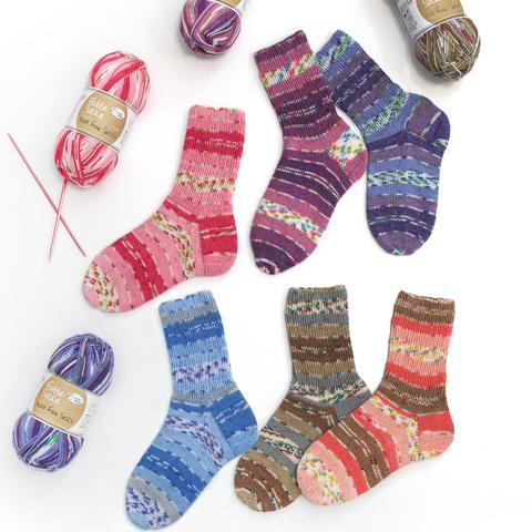 Rellana Flotte Socke Wool Free Stretch 1375