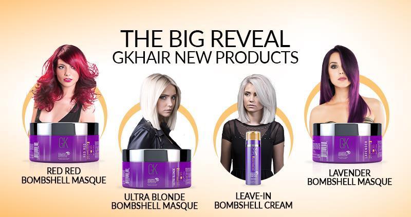 GKhair Leave-in Bombshell Cream несмываемый кондиционер-крем для блондинистых волос 100мл