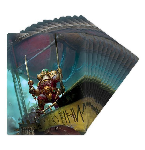 Warscroll Cards: Kharadron Overlords. Рубашка