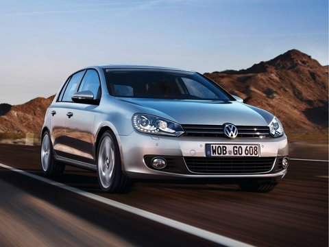 Чехлы на Volkswagen Golf 6 2009–2012 г.в.