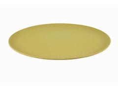Тарелка 28x1,2см Плоская, цвет Желтый (бамбуковое волокно)