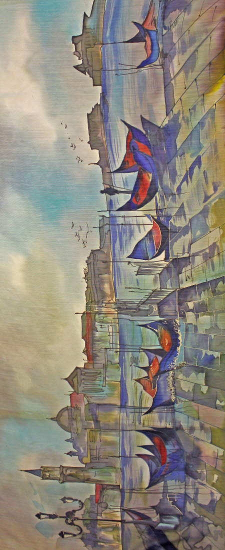 Палантин батик Венеция С-72