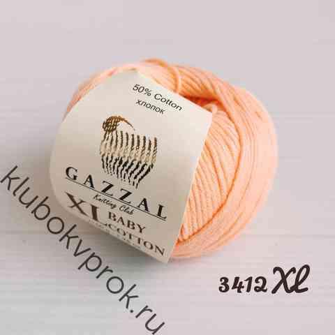 GAZZAL BABY COTTON XL 3412XL, Персик