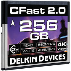 Карта памяти Delkin Devices 256GB CFast 2.0 560 - 495MB/s