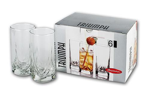 Набор высоких стаканов Pasabahce Triumf 41630/6