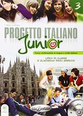 Nuovo Progetto Italiano Junior 3 Libro + Quader...