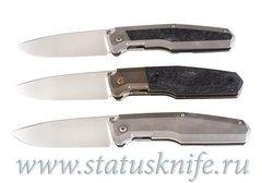 Сет ножей CKF/Philippe Jourget FIF20 2021 (M390, Ti , CF, Больстер)
