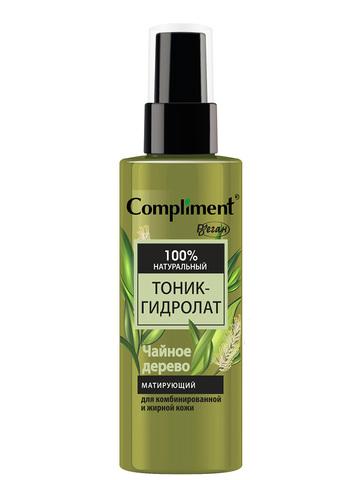 Compliment тоник-гидролат Чайное дерево матирующий