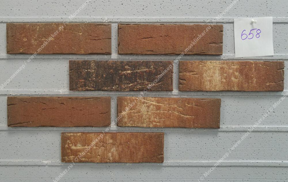 Feldhaus Klinker - R658NF14, Sintra Ardor Belino, 240x14x71 - Клинкерная плитка для фасада и внутренней отделки