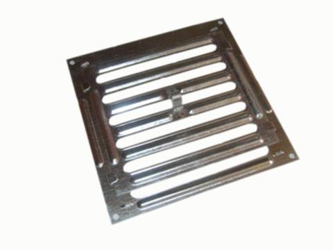 Решетка Р 200 250*250 мм, жалюзийная, металлическая