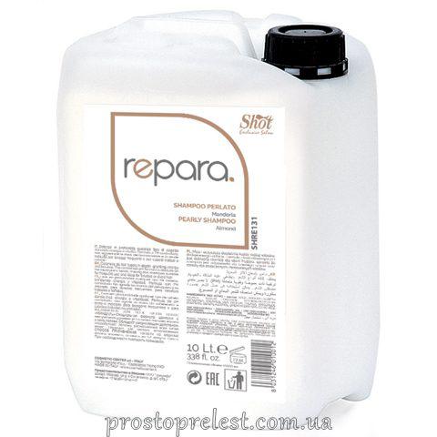 Shot Repara Pearly Shampoo Almond -Шампунь для всіх типів волосся з мигдалем