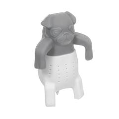 Ситечко для заваривания чая «Собака» из силикона, 9,5х6,5 см