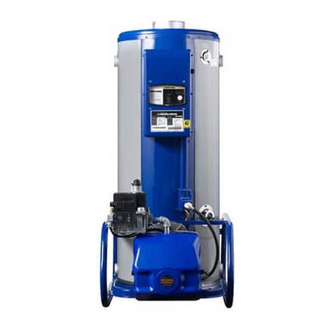 Котел газовый напольный Navien 1535GPD - 174 кВт (двухконтурный, открытая камера сгорания)
