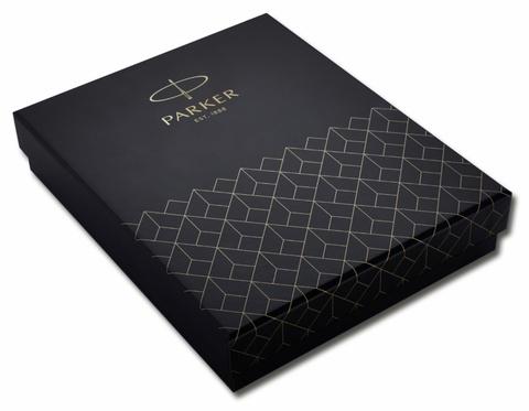 Подарочная коробка Parker с чехлом для одной ручки, цвет черный123