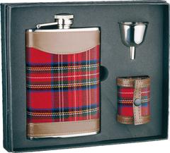 Итальянский набор с флягой S.Quire «Red set», 240 мл, фото 1
